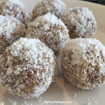 Golden Flax and Coconut Bliss Balls