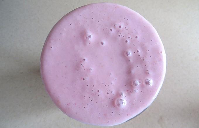 Creamy Dreamy Strawberry Smoothie