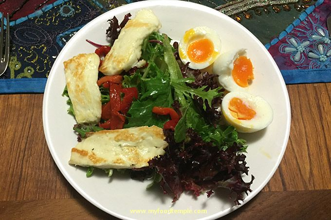 Haloumi Heaven Salad