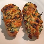 Hasselback Paprika Chicken – with Spinach and Ricotta