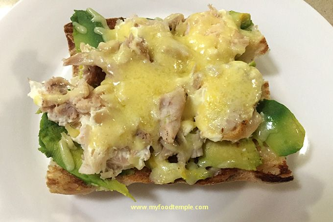 Chicken Avocado and Cheese Melt